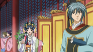 Kouyuu and shuurei at court