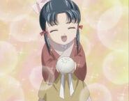 Little shuurei with steamed bun