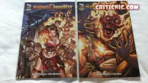 Comic Book Update - Salem's Daughter - The Awakening 0-1