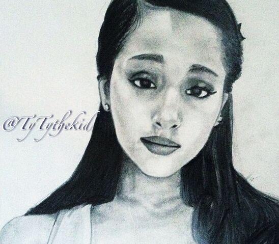 File:Ariana fan art by TyTythekid.jpg