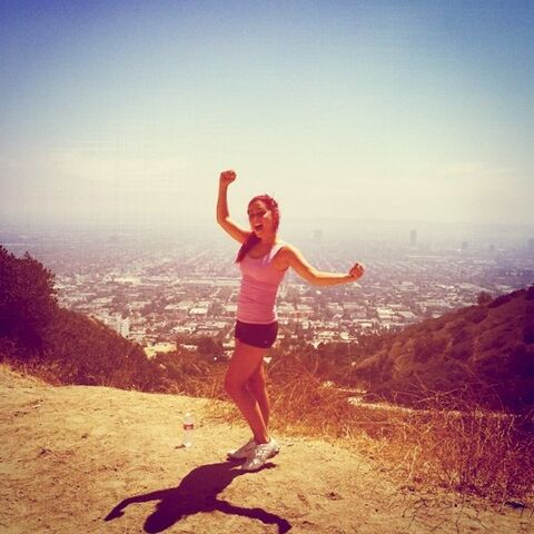 File:Ariana at the top of a hill - August 22, 2011.jpg