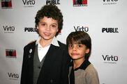 Cameron Ocasio and Aiden Eyrick