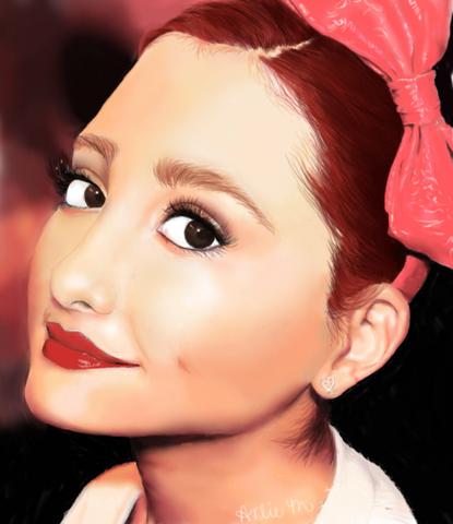 File:Fan Art of Ariana Grande.png