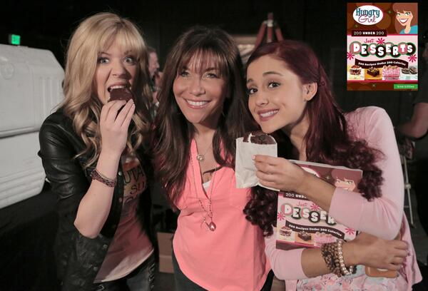 File:Jennette and Ariana supporting Lisa Lillien's Just Desserts book.jpg