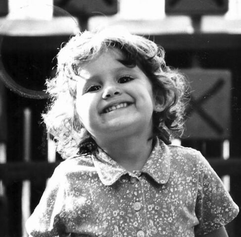 File:Ariana as a child in black and white.jpg
