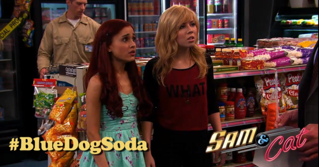 File:Sam and Cat asking why the all the Blue Dog Soda is being taken away.png
