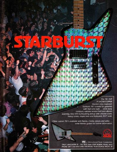 83 Starburst 781 ad