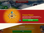 Unlock freeze tower