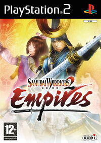 Samurai Warriors 2 Empires Cover