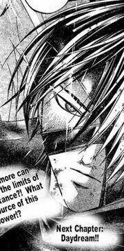 Hishigi red eyes