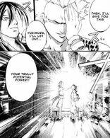 Anri teaches Sekireigan to Yukimura