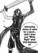 """Hakuya, the """"White Night"""""""
