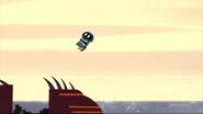 Scaramush flying