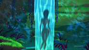 Nude Ashi waterfall