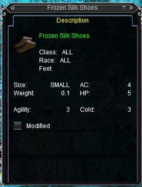 Frozen Silk Shoes