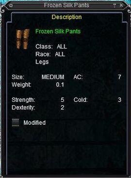 Frozen Silk Pants