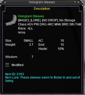 Hologram Sleeves