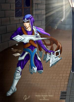 Noxian assassin talon by ariferemis-d61en10
