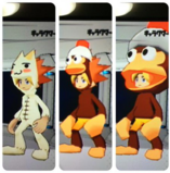 Some of Spike's costumes in MM
