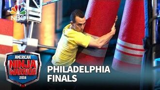 Joe Moravsky at the Philadelphia Finals - American Ninja Warrior 2016