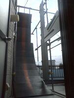 Warped Wall,Spider Climb,Rope Climb