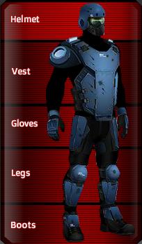 Ronson R armor