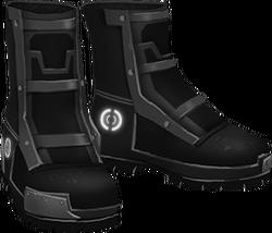 -BLACK- Hardplate Boots