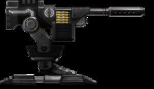 -BLACK- HVM Heavy Machine Gun Sentry