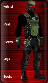 BLACK Kevlar set