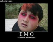 Motiv - emo like goth for pussies