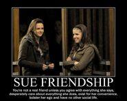 Motiv - sue friendship