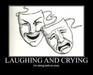 Motiv - laughing crying