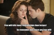 Twilight - free will