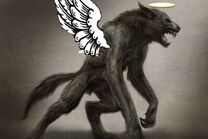 Angel werewolf