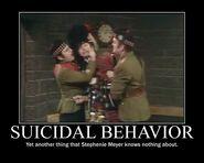 Motiv - smeyer suicidal