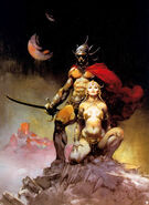 Frank frazetta - a fighting man of mars