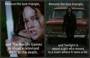 Remove the love triangle