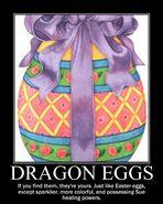 Motiv - dragon eggs