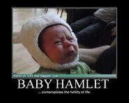 Motiv - baby hamlet