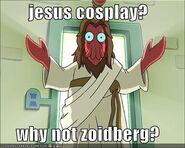 Jesus cosplay
