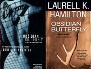 Obsidian butterfly collage - lkh