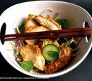 Salade de poulet au concombre