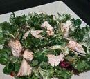Salade de poulet au citron vert