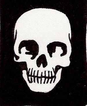 File:Black and white skull.jpg