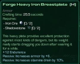 Heavy Iron Breastplate
