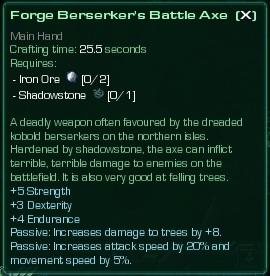 Berserker's Battle Axe