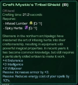Mystic's Tribal Shield