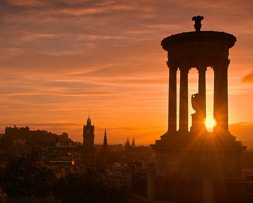 File:Edinburgh sunset.jpg