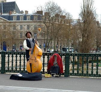 The Paris Contrebassist