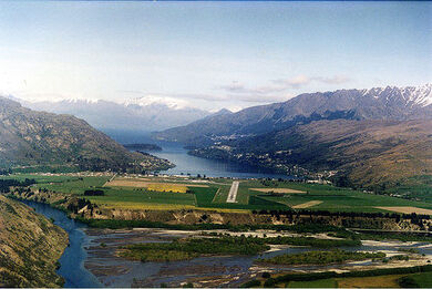 Long final, Queenstown, New Zealand